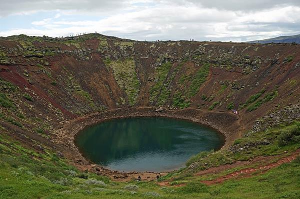 Kerid volcano